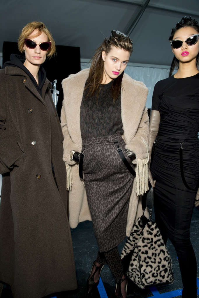 Max Mara fall winter 2018 backstage