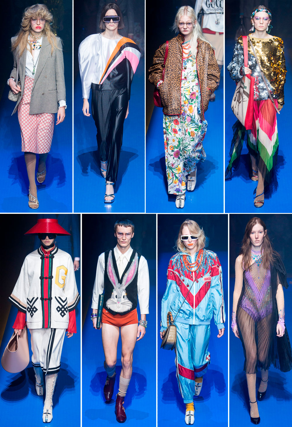 Looks Gucci primavera verano 2018
