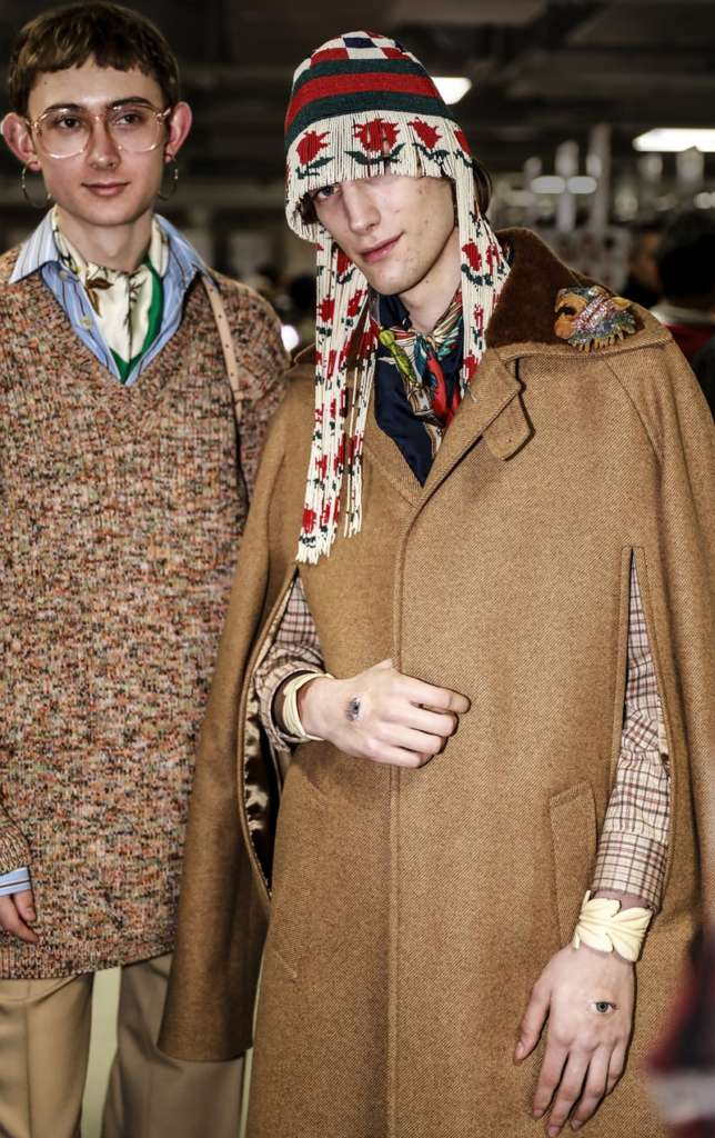 gucci backstage
