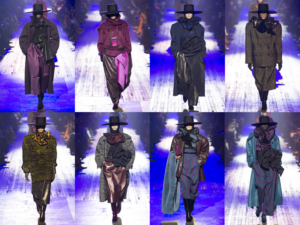 Marc Jacobs layout fall 2018