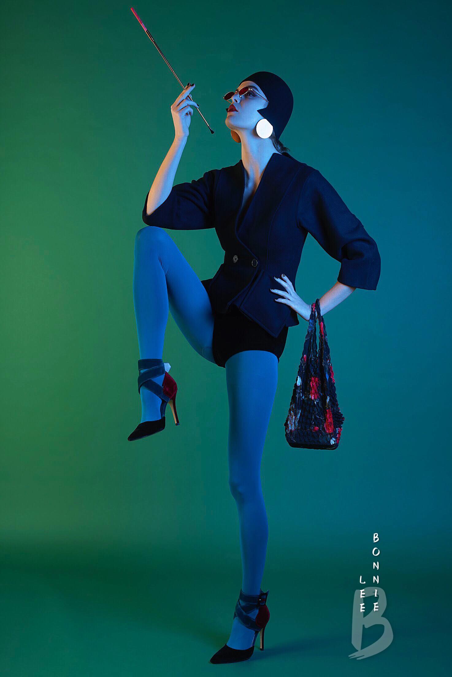 Bonnie Lee fashion editorial