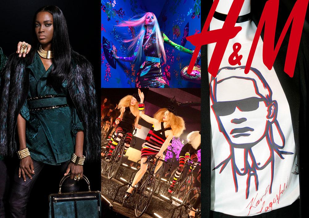 Todas las colaboracionesde H&M con firmas de lujo