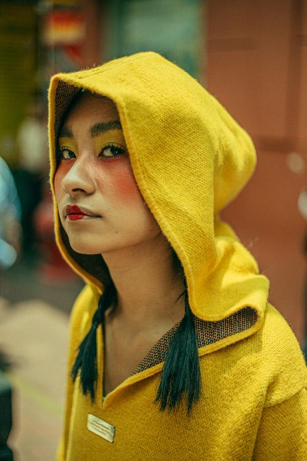 La diseñadora peruana Lis Bazan nos demuestra su versatilidad del color en su colección para Benetton