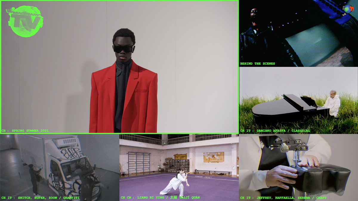 Off-white SS21 Imaginary TV
