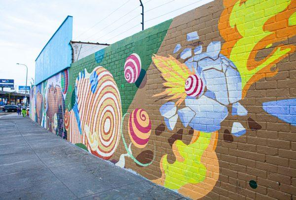 CONVERSE presenta nuevos murales que además de limpiar el aire, buscan derribar las barreras de raza y género