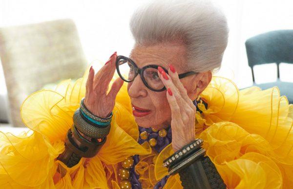 H&M anuncia su colaboración con el ícono de la moda Iris Apfel
