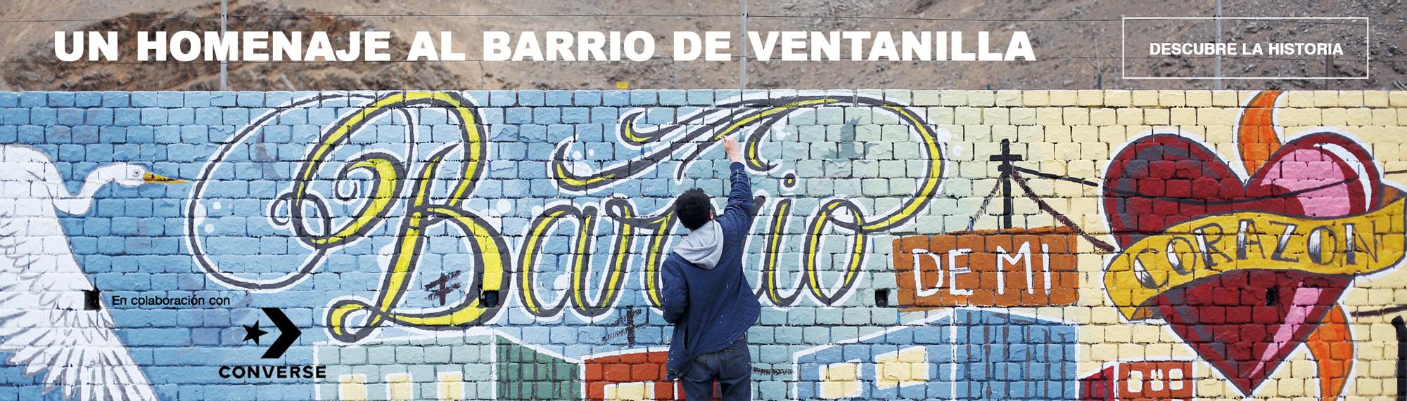 Converse Mural ventanilla all stars